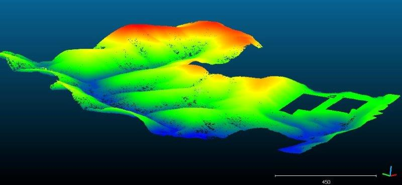 Laser scanner topografia