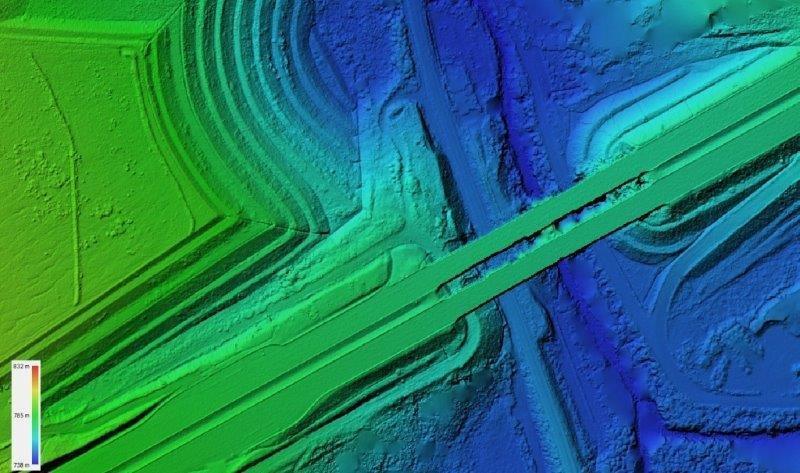 Levantamento topografico aereo